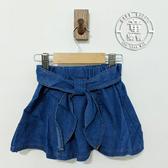 童裝 女童 牛仔 打結 造型 褲裙