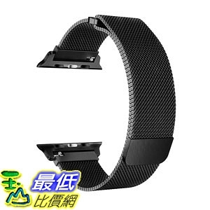 錶帶 OROBAY Compatible with Apple Watch Band 42mm 44mm, Stainless Steel Milanese B0798GNZPV