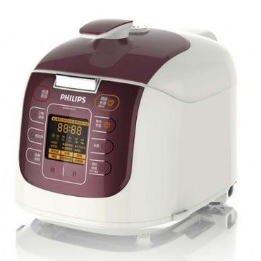 【Philips飛利浦】頂級智慧萬用鍋晶豔紫 HD2179