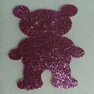 【奇奇文具】金蔥泡棉包NO.12-站熊