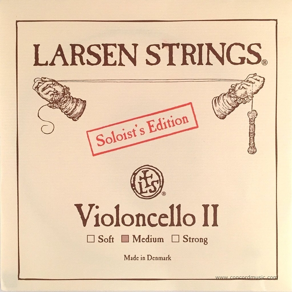 小叮噹的店-大提琴弦 (第二弦 D弦) 丹麥 Larsen Soloist 中張力/高張力 5512/5512ST