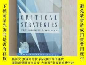 二手書博民逛書店Critical罕見strategies for academic writing: Cases, assignm