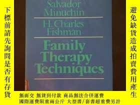 二手書博民逛書店Family罕見Therapy TechniquesY25702