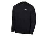 NIKE服飾系列-NSW CLUB CRW FT 男款黑色長袖上衣-NO.BV2667010