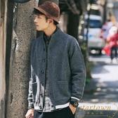 日系男士針織衫毛衣外套休閒上衣開衫寬松韓版潮流【繁星小鎮】