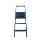 特力屋諾曼三階鋁梯-迷霧藍