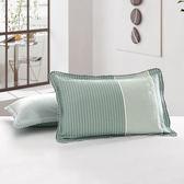 純棉紗布枕套加厚單人標準枕頭套一對