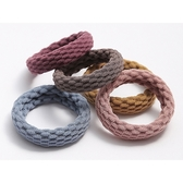 無接縫簡約髮繩(4入)【小三美日】顏色隨機出貨