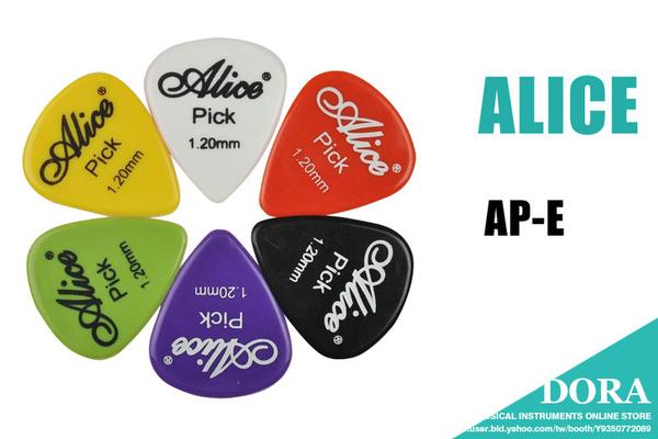 小叮噹的店 - PICK 彈片 (買1送1) ALICE AP-E 木吉他 烏克麗麗 電吉他