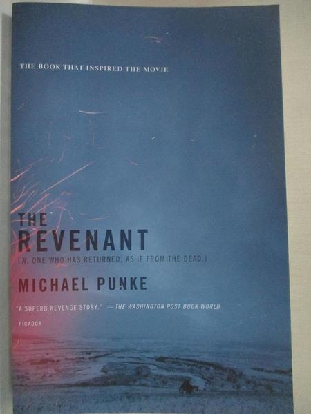 【書寶二手書T9/原文小說_HM4】The Revenant: A Novel of Revenge_Punke, Michael