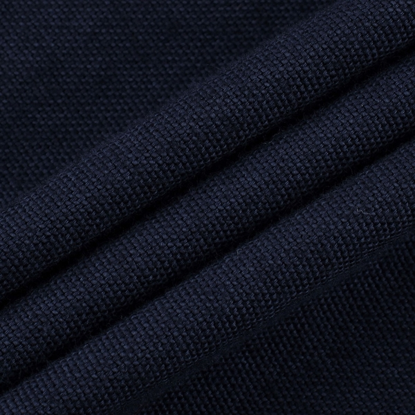 Gap男裝 簡約風格修身款長袖襯衫 619973-海軍藍