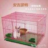 寵物兔籠子特大號兔子籠子刺猬荷蘭豬貂龍貓豚鼠鬆鼠兔籠子WD 晴天時尚館