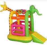 室內兒童玩具城堡小型家用充氣蹦蹦床大型淘氣堡 WD 薔薇時尚