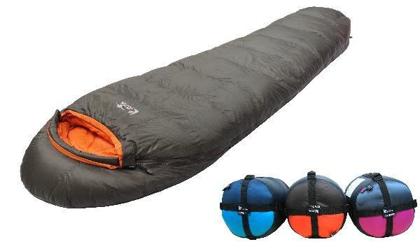 Lirosa 吉諾佳 超輕保暖型600g羽絨睡袋 AS600L 澳洲遊學打工 背包客棧 團購指定款【易遨遊戶外用品】