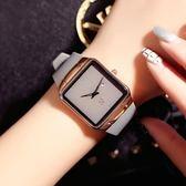 情侶對錶 英倫簡約男女超薄情侶錶石英腕錶硅膠帶皮女手錶新年鉅惠