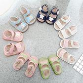 萬聖節狂歡   夏季女童學步鞋女 中小童公主鞋寶寶叫叫涼鞋 嬰兒軟底鞋女寶涼鞋【居享優品】
