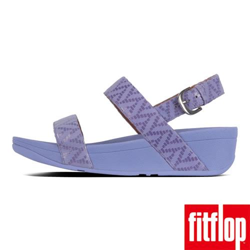 【FitFlop】LOTTIE CHEVRON-SUEDE BACK-STRAP SANDALS(薰衣草紫)