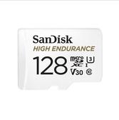 黑熊館 SanDisk 高耐久度 影片監控 專用 microSDXC UHS-1 記憶卡 128GB 公司貨