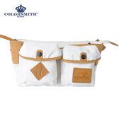 【COLORSMITH】SP8・梯形腰包-白色・SP8-1321-WH