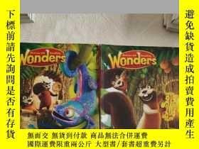 二手書博民逛書店wonders罕見literature anthology G1-u1+G1-U2(兩本合售)Y335486