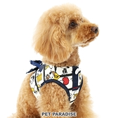 【PET PARADISE 寵物精品】 SNOOPY 滿版條紋胸背帶【3S】 寵物胸背帶