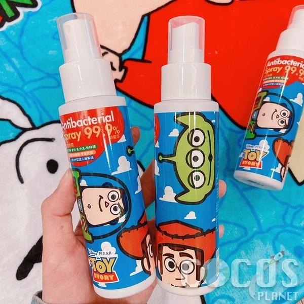 (防疫大作戰)正版 玩具總動員 巴斯光年 胡迪 三眼怪 抗菌噴霧 台灣製 100ml COCOS JJ300