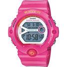 CASIO 卡西歐 Baby-G 繽紛慢跑錶-粉紅 BG-6903-4BDR / BG-6903-4B