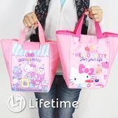 〖LifeTime〗﹝Kitty45週年船型便當袋﹞正版手提餐袋 便當袋 野餐袋 保溫袋 凱蒂貓 B19110
