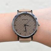 流行文青蜂巢紋手錶[W273]