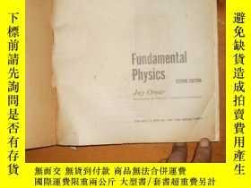 二手書博民逛書店Fundamental罕見Physics(second Edit