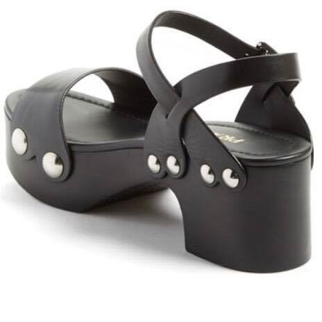 Prada 厚跟涼鞋
