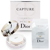【福利品拍照用封膜已拆】Dior迪奧 超級夢幻美肌氣墊粉餅#010 2x15g (公司貨) [QEM-girl]