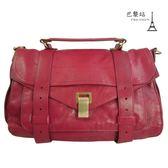 【巴黎站二手名牌專賣店】*現貨*Proenza Schouler PS1 真品*維尼斯紅 斜背包 手提包 兩用包