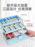 藥箱藥箱醫藥箱家用家庭裝藥品收納盒多層特大容量小號急救箱全套 初語生活