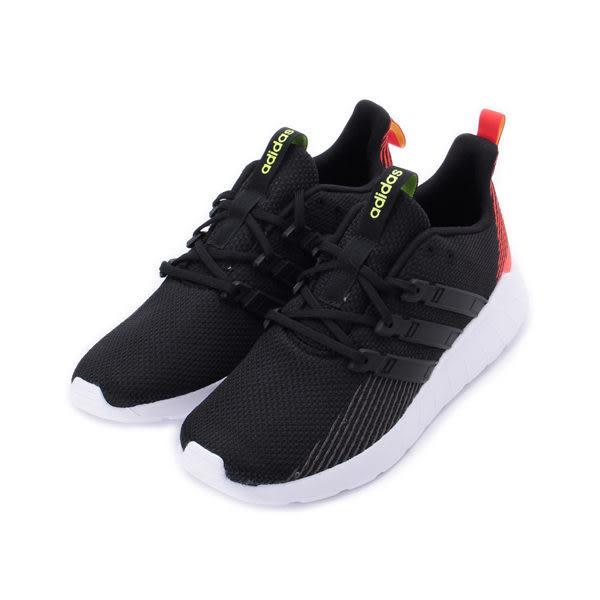 ADIDAS QUESTAR FLOW NEO 輕量休閒跑鞋 黑紅 F36243 男鞋 鞋全家福 | 慢跑鞋 |