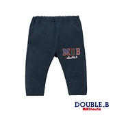 DOUBLE_B 黑熊刺繡休閒長褲