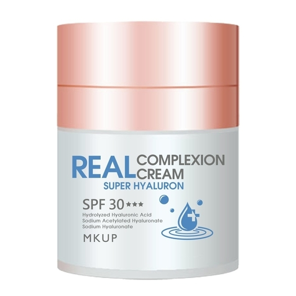 MKUP 超級玻尿酸素顏霜SPF30***30ML