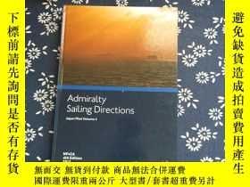 二手書博民逛書店Admiralty罕見Sailing Directions Ja