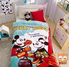 工地米奇-保暖法蘭絨毯(大件)走進迪士尼世界【睡眠屋】