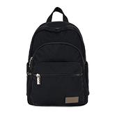 【南紡購物中心】J II 後背包-多隔層防潑水後背包-黑色-6390-1