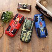 筆盒 兒童筆袋男大容量創意文具盒巨能坦克3D炫彩卡通軟殼鉛筆盒奧特曼 潮先生