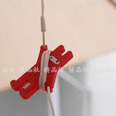 【忍者兔繞線器】炫彩耳機收納捲線器/繞線器/收線器