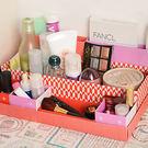 ✭米菈生活館✭【H43】桌面七格收納盒 DIY 組裝 文具 書桌 辦公 桌面 整理 分類 雜物 可愛 加厚