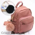 Catsbag 可愛懶兔毛球包包吊飾|掛...