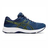 Asics Gel-contend 6 [1011A666-400] 男鞋 慢跑 運動 舒適 支撐 緩衝 亞瑟士 藍黃