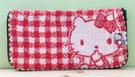 【震撼精品百貨】Hello Kitty 凱蒂貓~Hello Kitty日本SANRIO三麗鷗KITTY化妝包/筆袋-毛巾布紅*00330