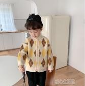童裝外套兒童毛衣男童韓版寶寶圓領加厚開衫秋冬款中小童百搭針織衫