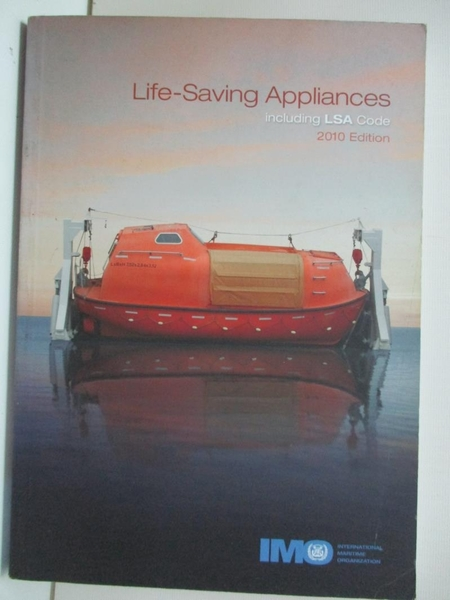【書寶二手書T1/政治_BXM】Life-Saving Appliances Including LSA Code, 2010 Edition