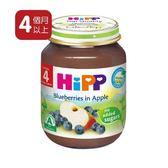 Hipp 喜寶 - 有 機蘋果小藍莓泥125gX6 罐 383元