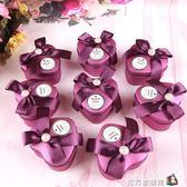 抖音同款喜糖盒成品婚慶用品創意禮盒糖盒結婚婚禮鐵盒歐式伴手禮 魔方數碼館